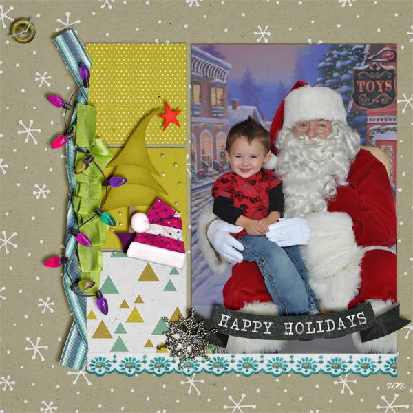 Cooper and Santa