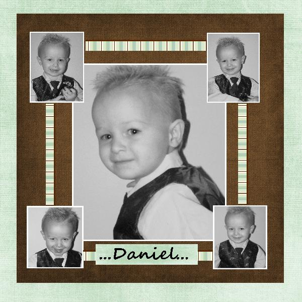 My youngest..Daniel