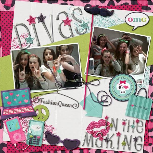 Divas in the making