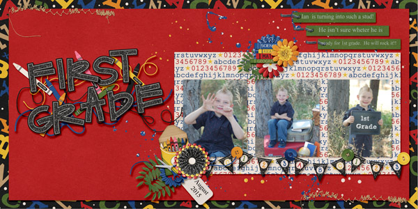 layout by trinykay using Teacher's Pet