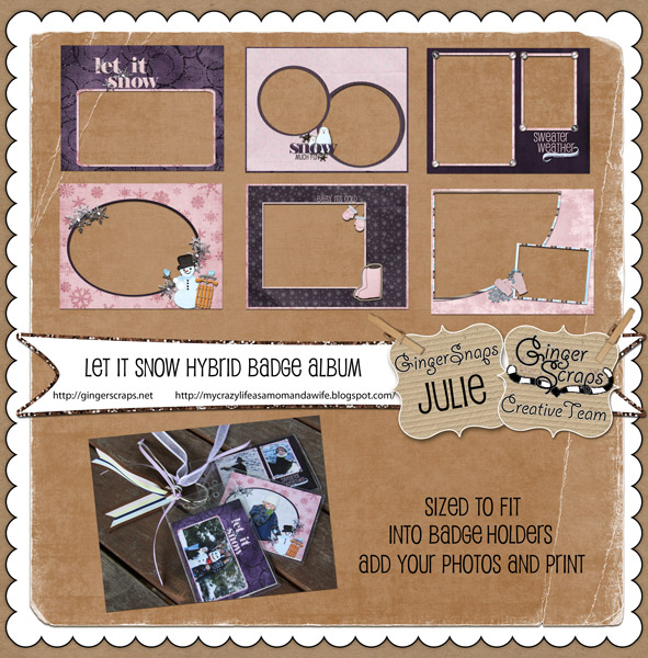 Julie- Included Hybrid Badge Album