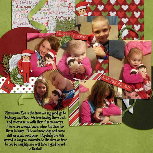 layout by Trinikay using Up to No Good and template Crazy vol. 7