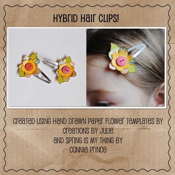 Hybrid Hair Clips