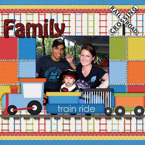 Family Train Ride
