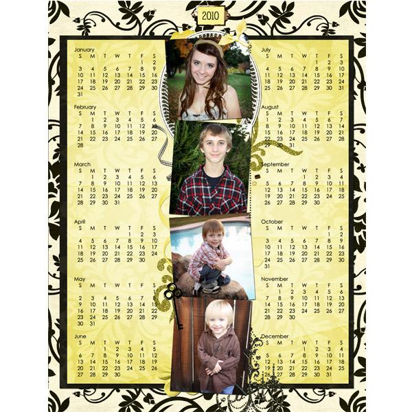 Calendar Gift for SIL