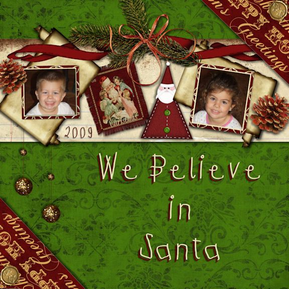 We Believe in Santa 2009