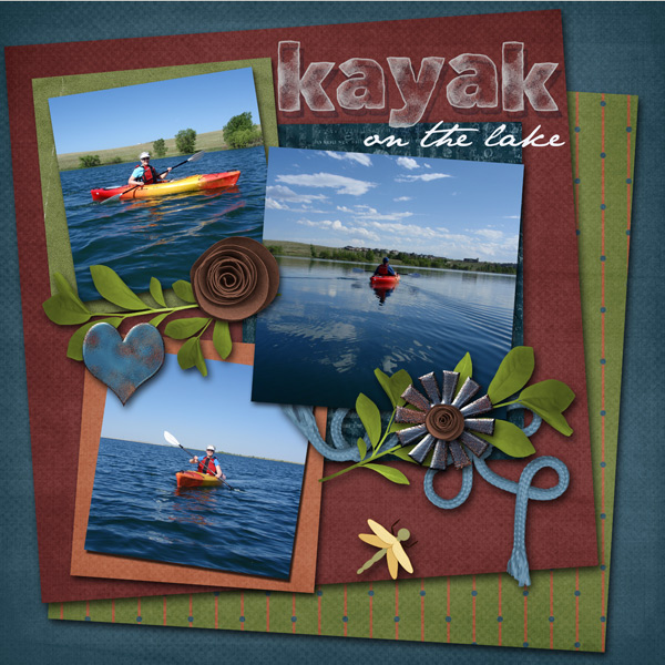 Kayak at the Lake