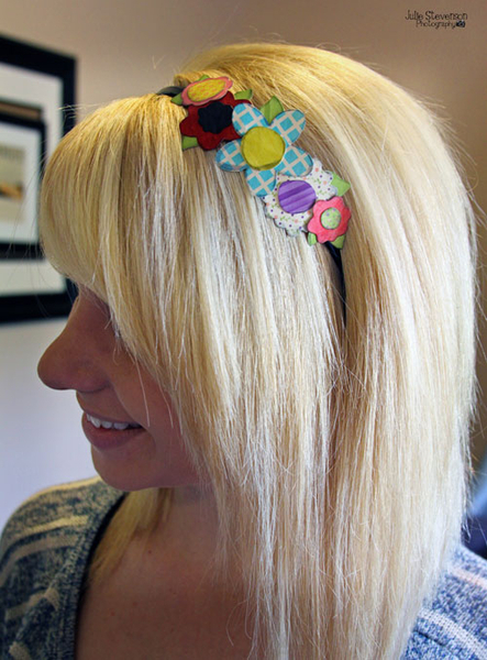 Paper Flower Headband