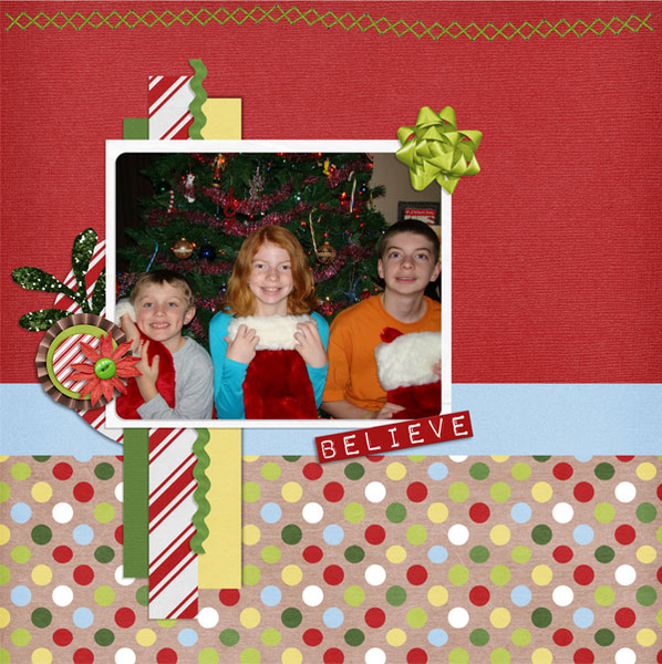 Christmas Memories-left