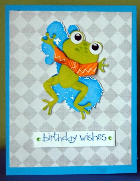 Froggy Birthday