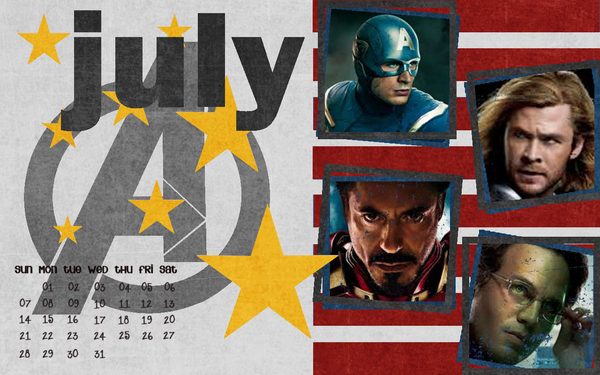 Avengers July Desktop