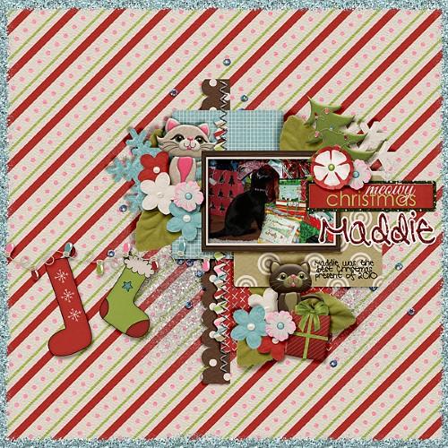 Meowy Christmas Maddie