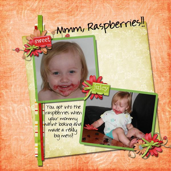 Mmm, raspberries!!