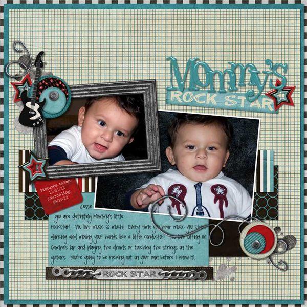 Mommy's Rockstar