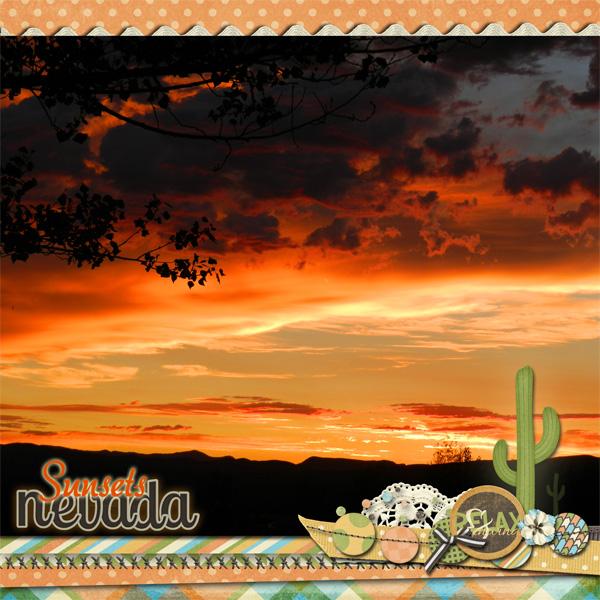 Nevada Sunsets