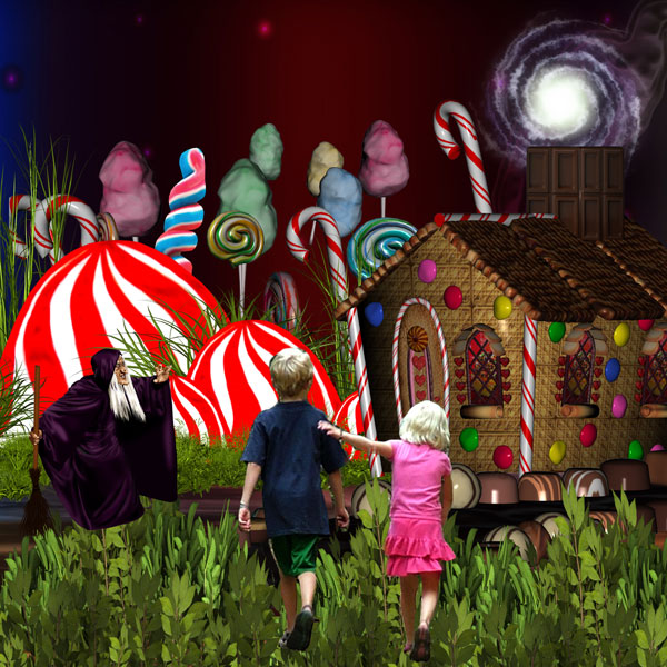 Once upon a time Hansel & Gretel