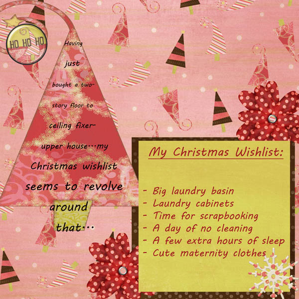 Abigail's 2012 Christmas Wishlist