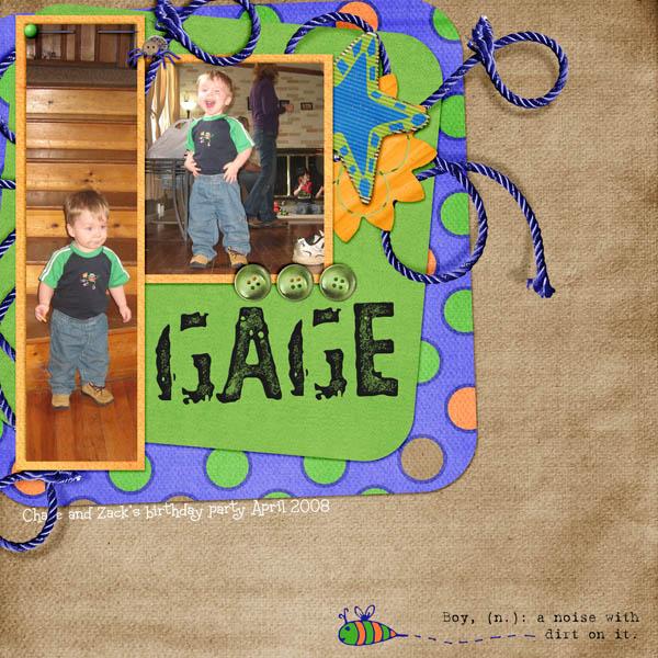gage boy
