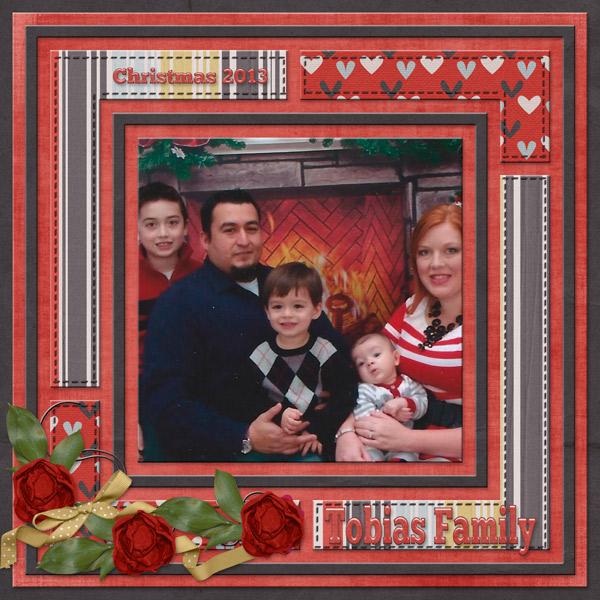 Tobias Family - Christmas 2013