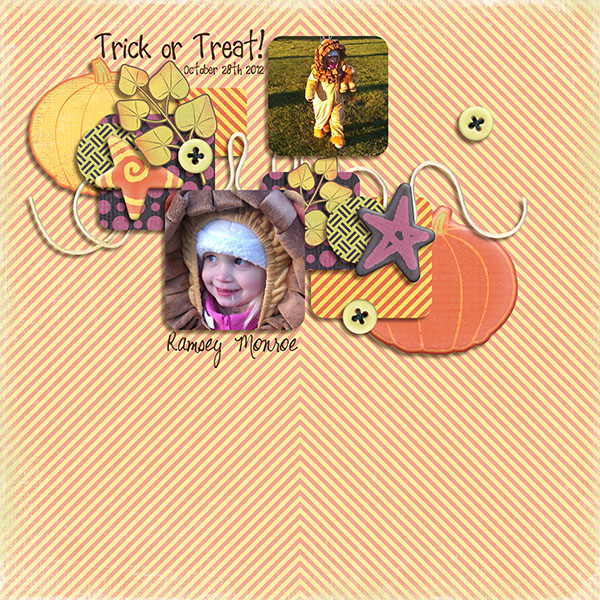 Trick or Treat - Little Miss R