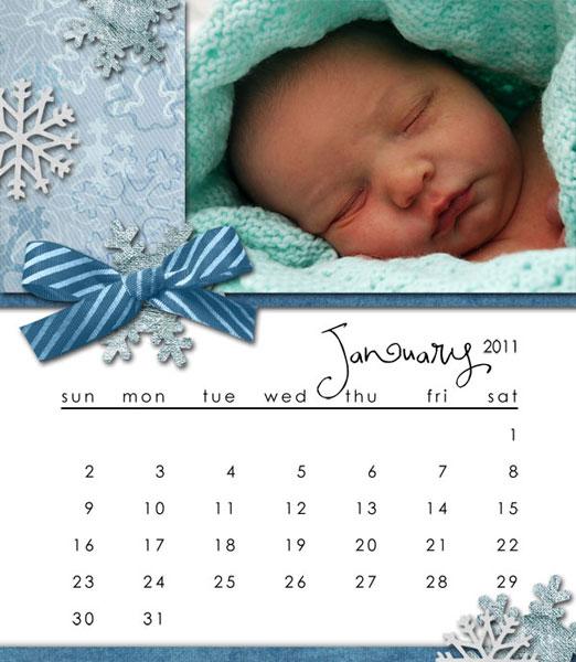 CD Calendar - January