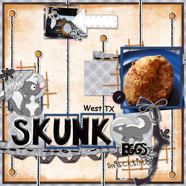 Skunk Eggs