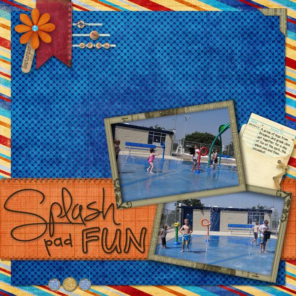 Splash Pad Fun