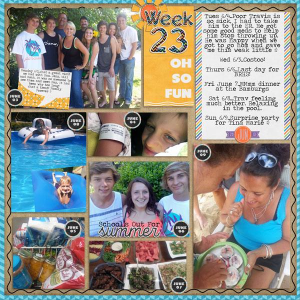 Week 23, 2013
