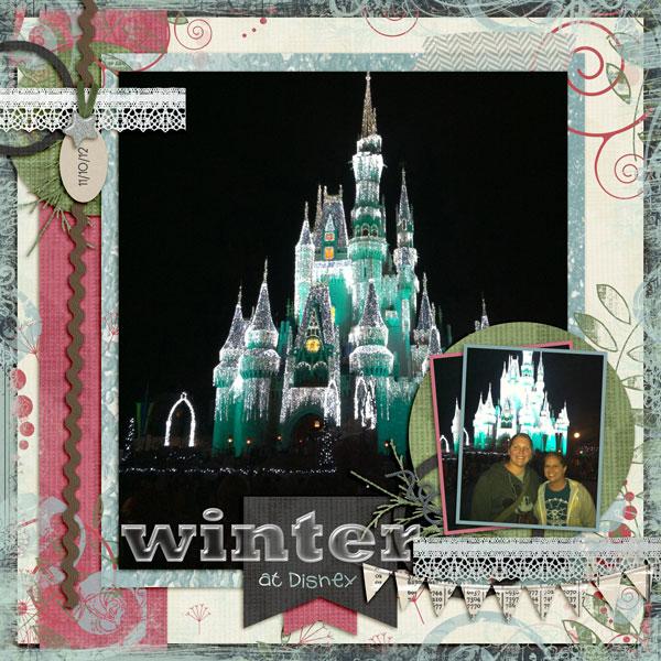 Winter in Disney