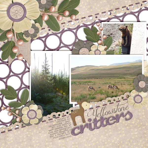 ~Yellowstone Critters~