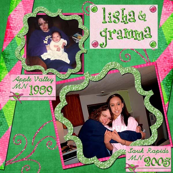 Lisha & Gramma