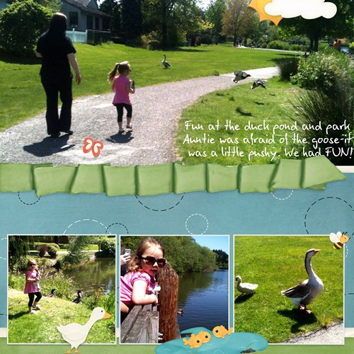 Fun at the Duck Pond/Park