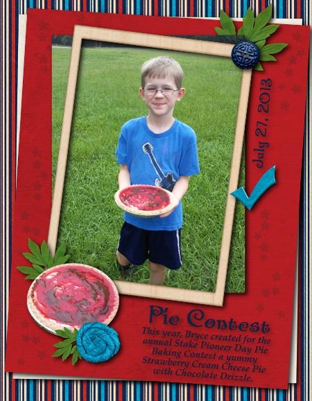 Pie Contest 2013