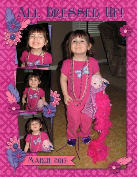 Dress Up March 2013