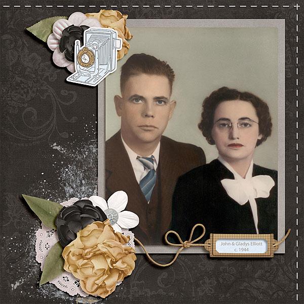 John & Gladys Elliott
