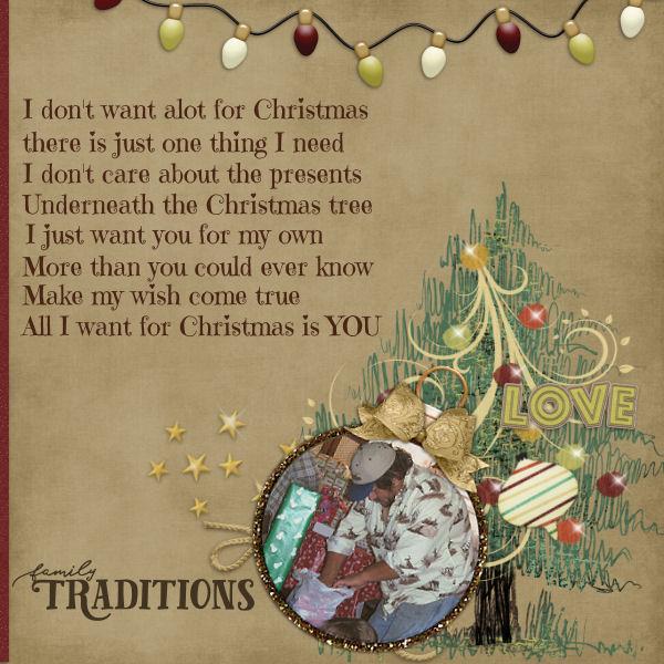 All I Want 4 Christmas