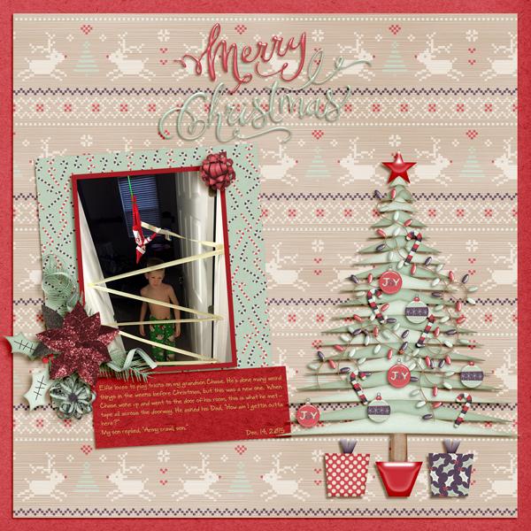 Merry Christmas - Elfie