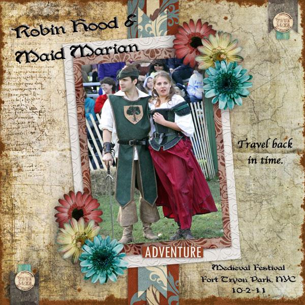 Robin Hood & Maid Marian