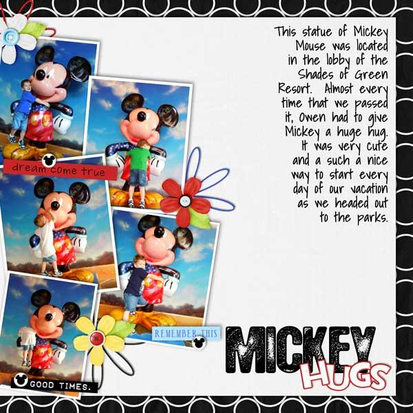 Mickey Hugs