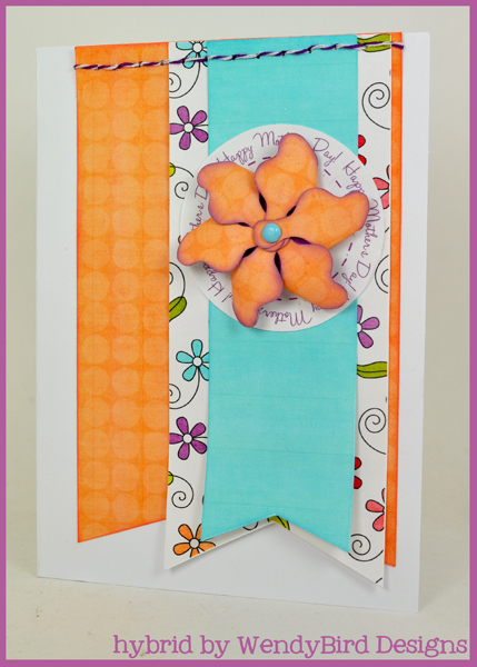 Mother's Day Pinwheel Card
