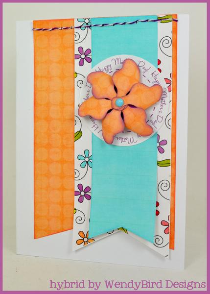Mother's Day Pinwheel Card