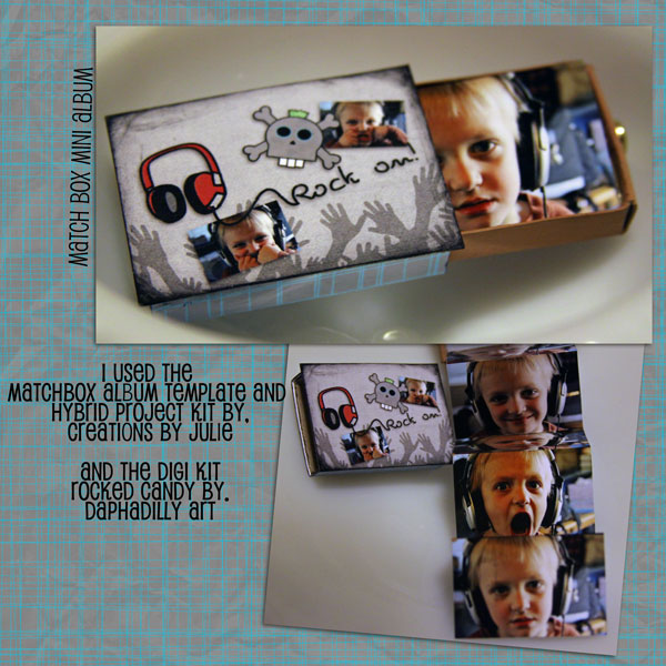 Match Box mini Album