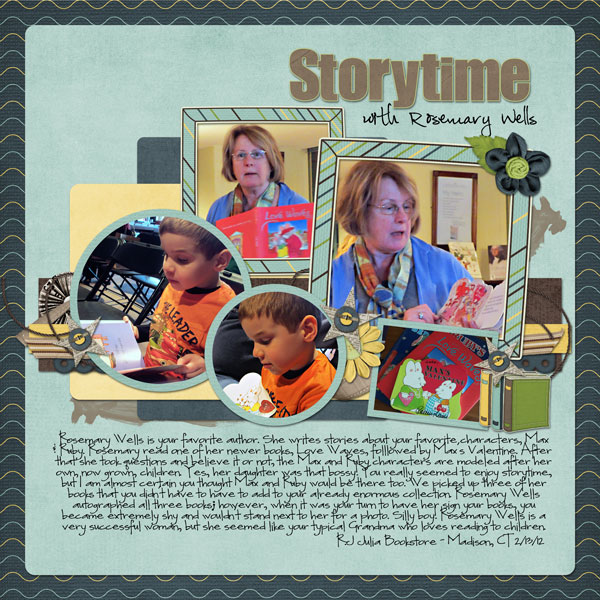 Storytime with Rosemary Wells