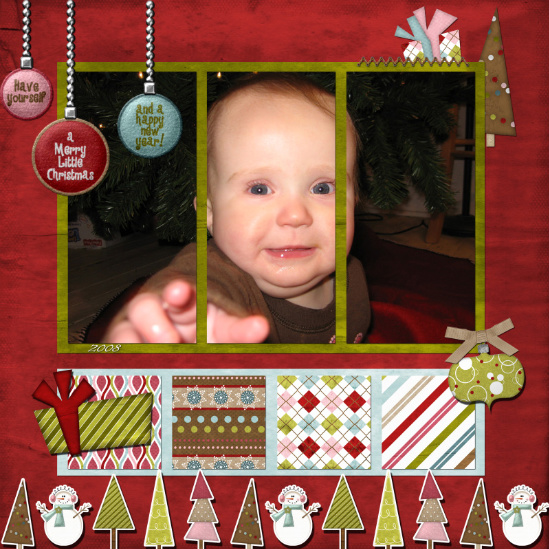 November challenge - Scout's first Christmas