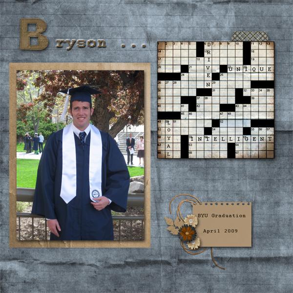Bryson's graduation