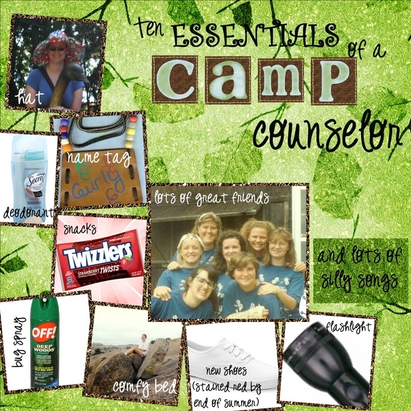 camp essentials 2