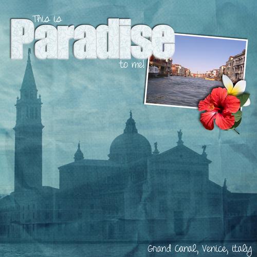 Paradise to me