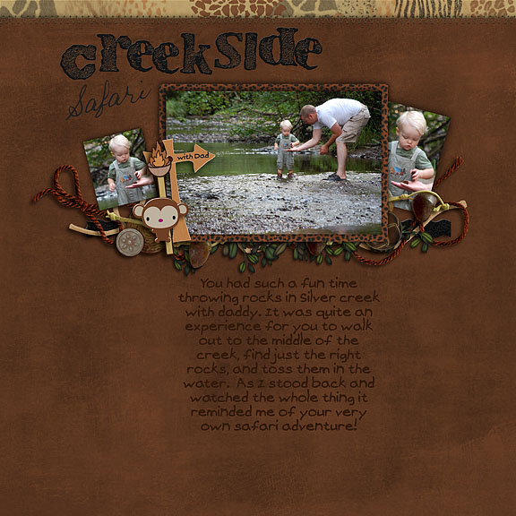Creekside Safari with Dad