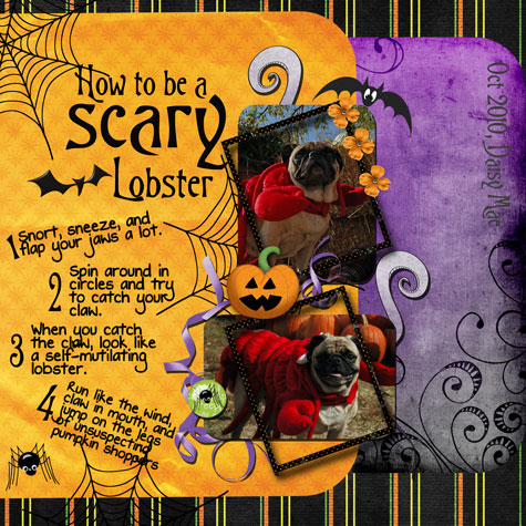 Scary Lobster