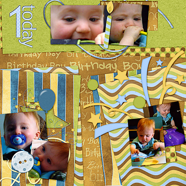 Ciaran's 1st Birthday ~ 1 Today